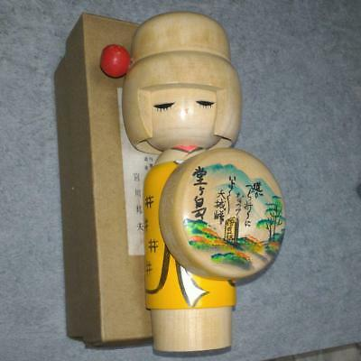 Kokeshi Japanese traditional craft cute rare popular vintage Izu's dancer F / S!