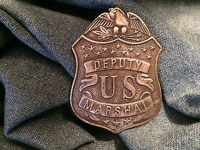 Nice Old West Badge ' Deputy Marshal ' western*cowboy*novelty*SASS