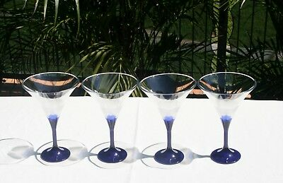 4 Brand New Tupperware Illusions Cocktail Glasses
