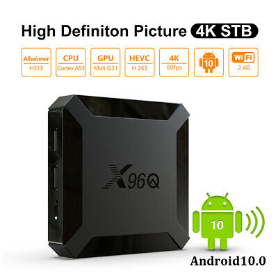 2G+16G Android 8.1.0 Oreo Quad Core Smart TV BOX WIFI 3D Sports 2.4G WIFI HDR FR