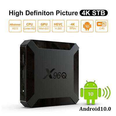 2G+16G Android 9.0 Pie Quad Core Smart TV BOX WIFI 3D Sports 2.4G WIFI HDR10 FR