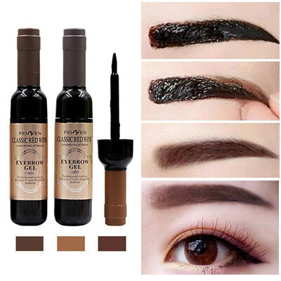 Eye Brow Makeup Tattoo Tint Mascara Waterproof Long Lasting Natural Eyebrow Gel