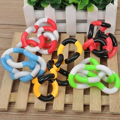 Tangle Jr Fiddle Fidget Stress ADHD Autism Sensory Help Stop Smoking Fidget Toy