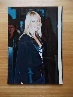 Photo Estelle Hallyday Lefebure Festival De Cannes 2000