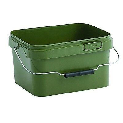 "3 x 5 L - ""GREEN BAIT BUCKET"" WITH LID"