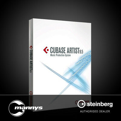 Steinberg Cubase Artist 9.5 Digital Audio Workstation