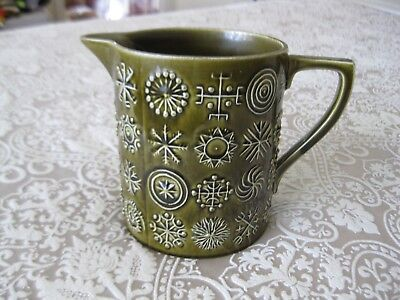 Vintage Retro Portmeirion Totem Susan Williams-Ellis Ceramic Jug made in England