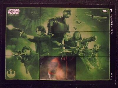 Topps Star Wars Rogue One Puzzle Card #118