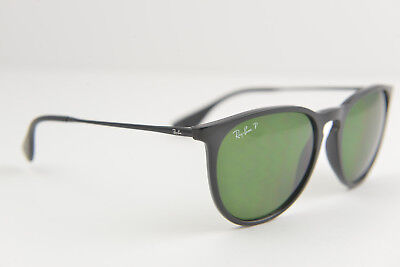 Ray-Ban women's round sunglasses RB 4171 ERIKA 601/2P 3P Black/Green