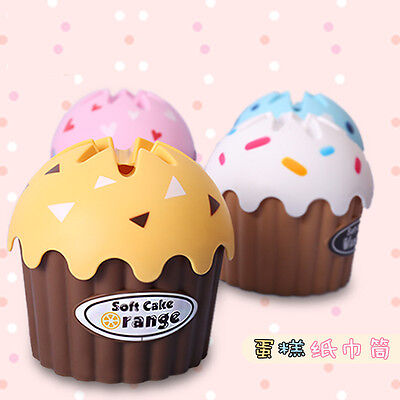 Cupcake tissue box cover toilet paper cover candy jars storage canister