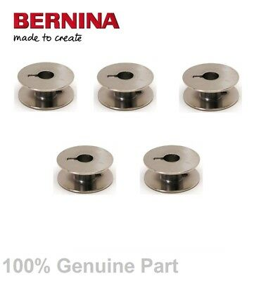 5 x BERNINA SEWING MACHINE METAL BOBBINS Special for 1000 & 1001 Only