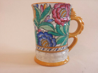 Art Deco Charlotte Rhead Crown Ducal 4040 'Persian Rose' Tubelined Vase 198