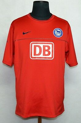 HERTHA  Football Shirt Jersey Camiseta Trikot Rare Training / Leisure