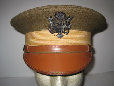 M1912 Officer Visor Cap Hat