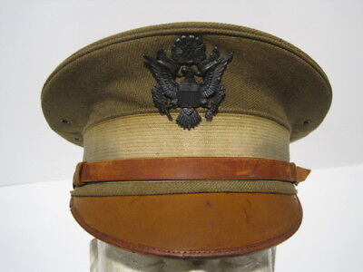 M1912 Officer Service Visor Cap Hat