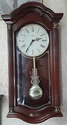 Vintage wall clock by Howard Miller 620-220 Quartz Wall Clock With Dual Chime