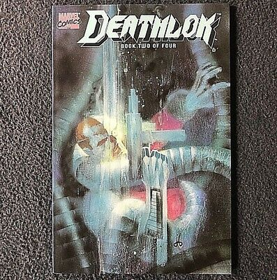 DEATHLOK Vol. 1 BOOK 2 OF 4 (1990) -Square Bound, High Grade! NEVER READ