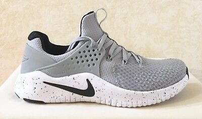 291c0f63b9f0 Men Nike Free TR Training Athletic Lifestyle Shoes Sneaker Gray White AH9395 -