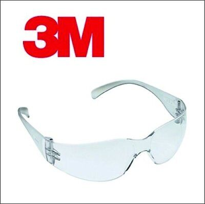 3M Safety Work Clear Lens Polycarbonate Anti scratch EN166 Spectacles Glasses UK