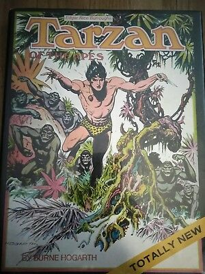 1972 FIRST PRINT TARZAN OF THE APES HARD COVER BOOK EDGAR RICE BURROUGHS w/DUST