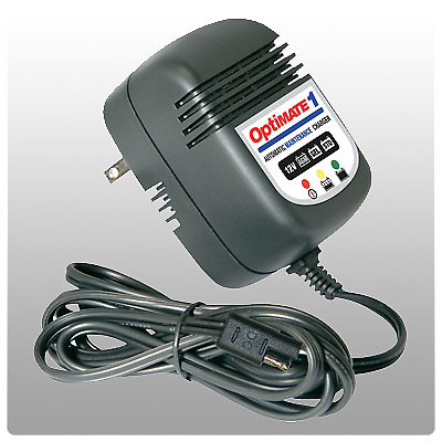 Optimate 1 Fully Automatic 12V Atv / Motorcycle Battery Charger And Maintainer