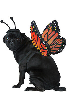 Brand New Monarch Butterfly Bug Pet Dog Costume