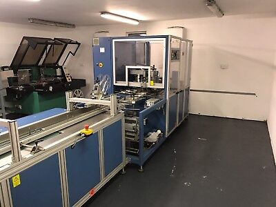 BVM Mailmaster 4005 high speed flow wrapping machine shrink wrap shrink wrapping