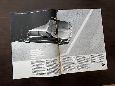 BMW 732i / Werbeanzeige Reklame 1984 advertisement print ad / W4825