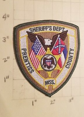 Prentiss County (Booneville,MS) Sheriff's Department Patch        ***NEW***