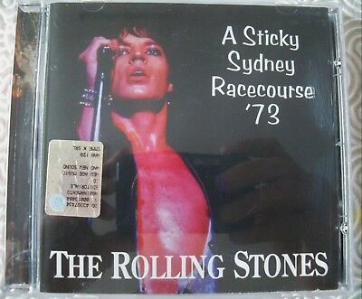 "Rolling Stones ""A Sticky Sidney Racecourse'73""Cd Live Aus 1973 Great Conditions"