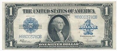 1923 One Dollar $1 Silver Certificate-Nice Lightly Circulated-Free Ship! Inv:1