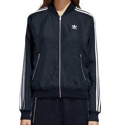 368cd2ae6ae98 Adidas Originals Superstar Women s Track Top Collegiate Navy White br4519