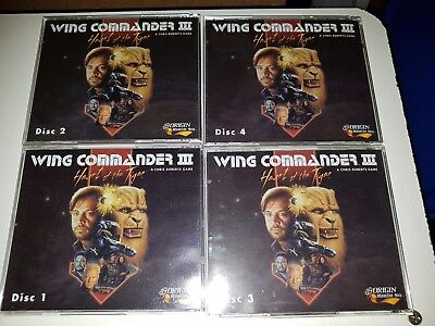 Wing Commander III 3 Heart of the Tiger PC Game