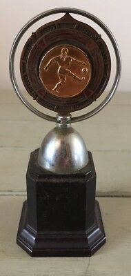 Vintage 1960 football trophy East Riding, trophy, football, East Riding FA