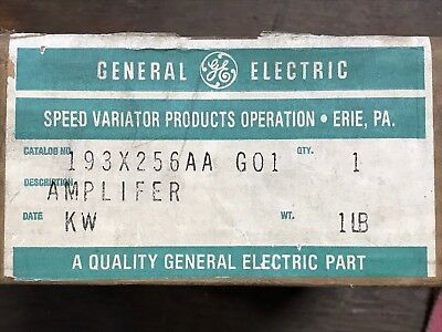General Electric GE 193X256AAG01 Amplifier Card