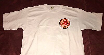 PEARL JAM - Calgary Canada 2009 Flames Jersey style T-Shirt size M medium vedder