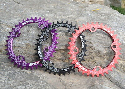 MTB Single Narrow Wide Round Oval Chainring Chain Ring BCD 104mm 30 32 34 36 38T