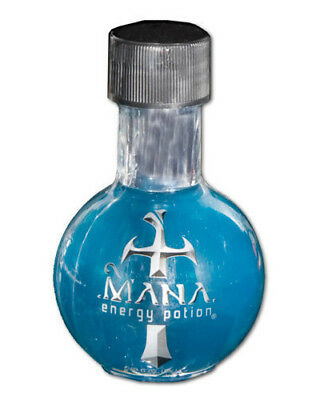 Mana Energy Potion Drink Blue Vial Concentrated NEW