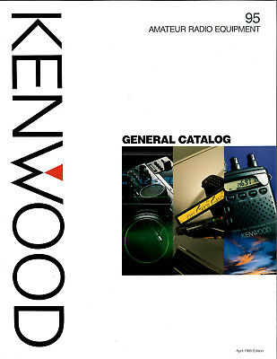Kenwood Amateur Radio Equipment General Catalog 1995 Specifications  8 Pages