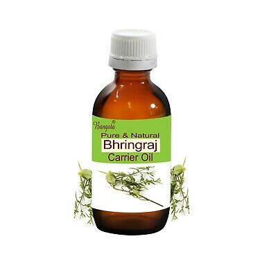 Bhringraj Pure Natural Cold Pressed Oil 5 ml to 250 ml Eclipta alba by Bangota