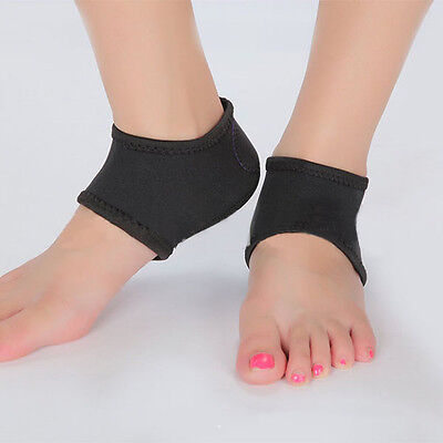 Foot Heel Ankle Wrap Pad Cushion Plantar Fasciitis Pain Relief Arch Support