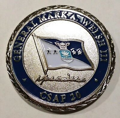 General Mark A Welch III CSAF 20 Air Force Chief of Staff Challenge Coin
