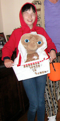 Elliot On Bike With E.t. Halloween Costume Child Or Adult - Plus Free Shipping!
