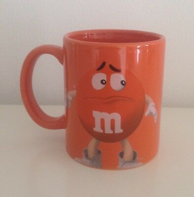 M&M's Sammlertasse Tasse Becher orange NEU m&m