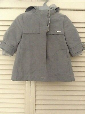 Baby Girl Hooded Jacket by Chloe Size 6months (Brand new)