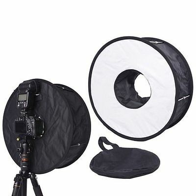 45CM Macro Ring Flash SoftBox Diffuser for Canon Nikon Yongnuo Godox Speedlite