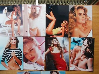 "Lot De 10 Photos Claudia Schiffer 18 X 13 Cm  7"" X  5"""