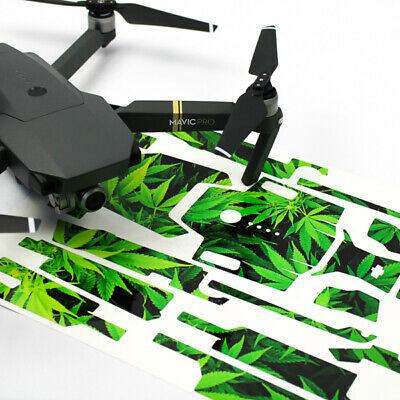 4a45221c4d6 WEED DRONE SKIN Wrap Decal Stickers for DJI Mavic Pro - $17.29 ...