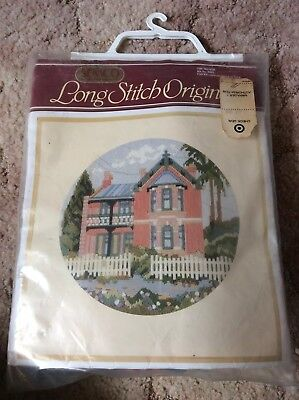 Semco Long Stitch Originals The Manor Kit Not Started