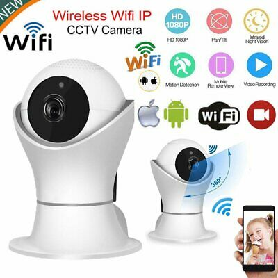 Wireless WIFI Camera HD Home Security CCTV Surveillance Pet Dog Baby Monitor AU